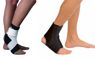 Жесткий ортез на голеностопный сустав сильной фиксации – правила выбора