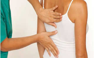 Защемление нерва в грудном отделе позвоночника – причины